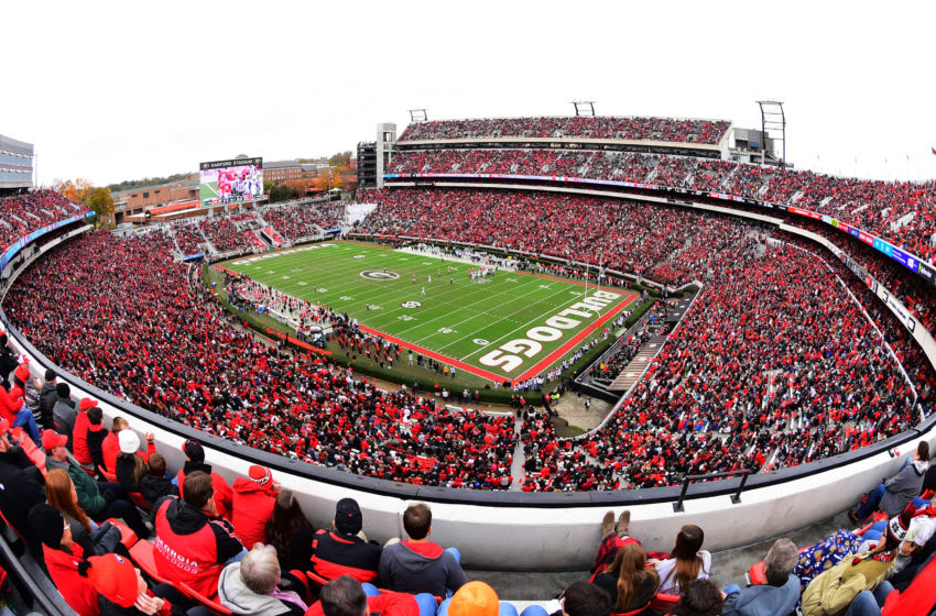 Georgia football (Photo by Scott Cunningham/Getty Images)