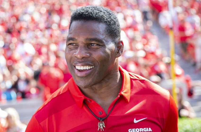 Georgia alum Herschel Walker (Photo by Steve Limentani/ISI Photos/Getty Images).