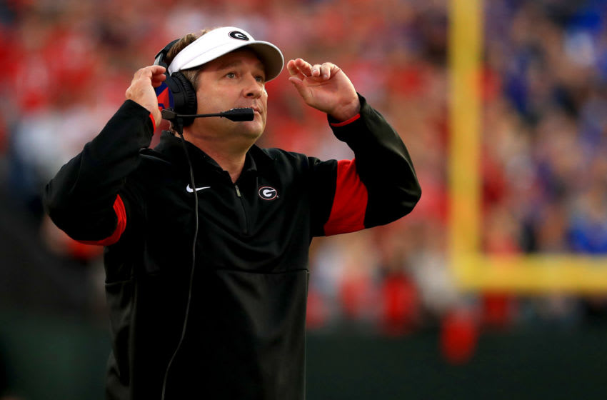 Kirby Smart (Photo by Mike Ehrmann/Getty Images)