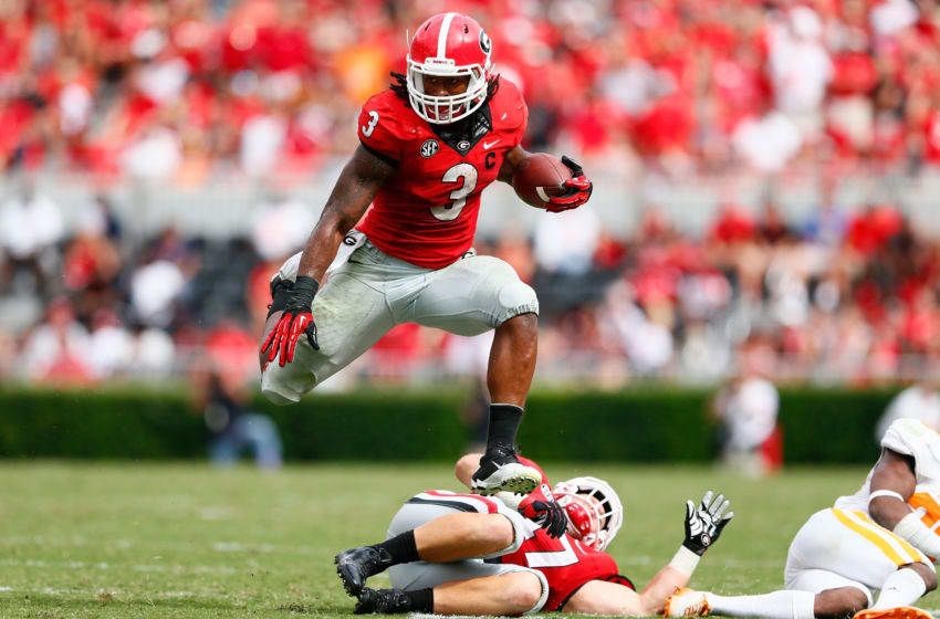 Todd Gurley of the Georgia Bulldogs (Photo by Kevin C. Cox/Getty Images)