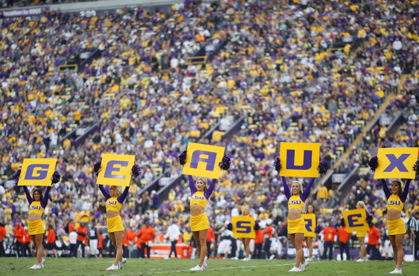 LSU Football fans (Photo by Chris Graythen/Getty Images)