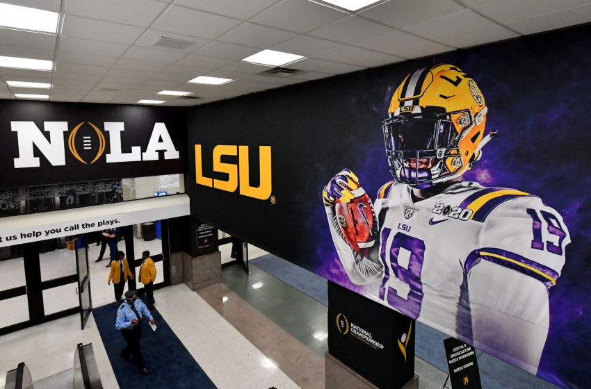 LSU football (Photo by Alika Jenner/Getty Images)