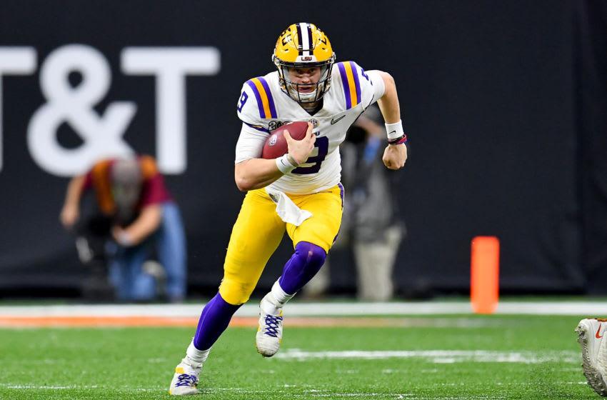 LSU Football quarterback Joe Burrow (Photo by Alika Jenner/Getty Images)
