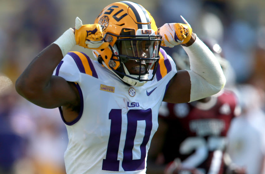 LSU football loses to Mississippi State (Photo by Sean Gardner/Getty Images)