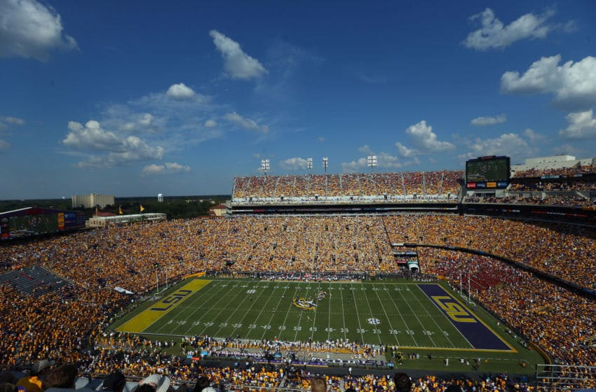 LSU football's Tiger stadium (Photo by Ronald Martinez/Getty Images)