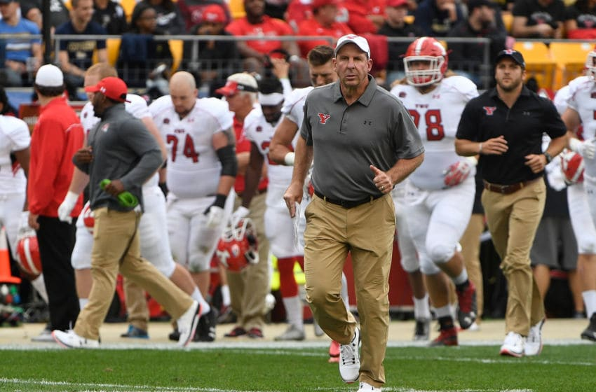 LSU football DC Bo Pelini. (Photo by Justin Berl/Getty Images)