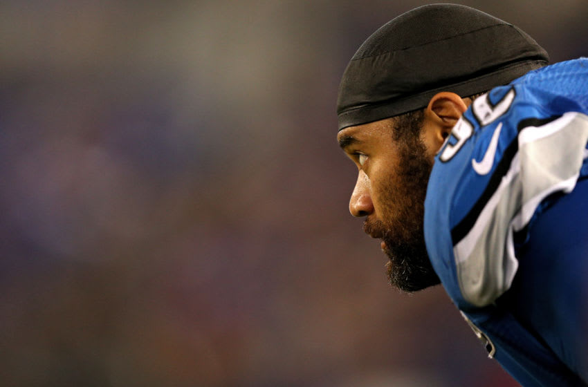 Defensive tackle Haloti Ngata #92 of the Detroit Lions looks on against the Baltimore Ravens during the second half in their preseason game at M&T Bank Stadium on August 27, 2016 in Baltimore, Maryland. (Photo by Patrick Smith/Getty Images)