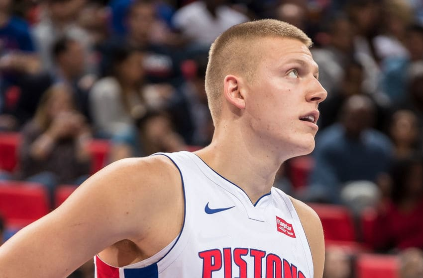DETROIT, MI - OCTOBER 18: Henry Ellenson