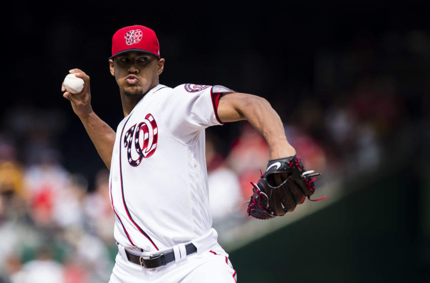 WASHINGTON, DC - JUNE 24: Starting pitcher Joe Ross