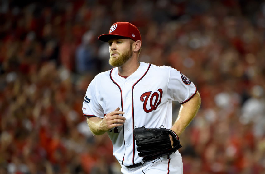 Stephen Strasburg (Photo by Will Newton/Getty Images)
