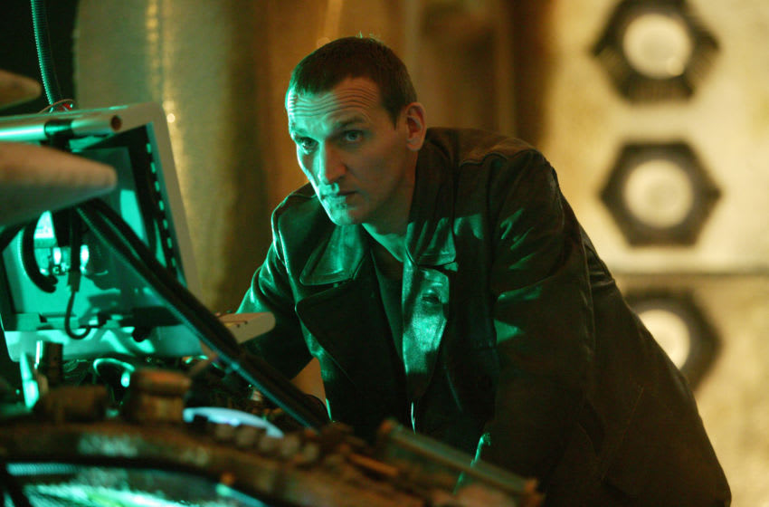It's taken a long time, but he's back - Christopher Eccleston has returned to the role of the Ninth Doctor! Image credit: Doctor Who/BBC. Image obtained from: BBC Press.