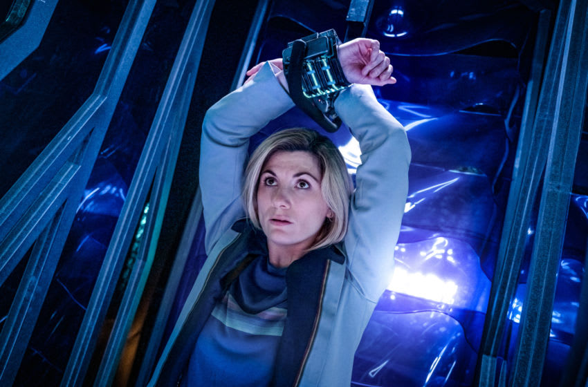 The Doctor gets tied up in this week's episode Can You Hear Me? Photo Credit: Ben Blackall/BBC Studios/BBC America