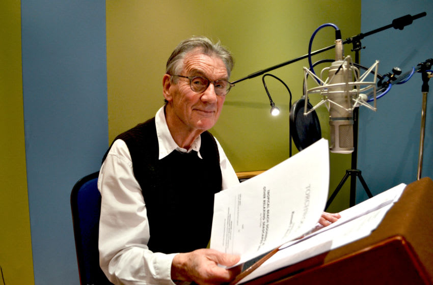 Sir Michael Palin narrates the brand new Torchwood story Tropical Beach Sounds and Other Relaxing Seascapes #4! Image Courtesy Big Finish Productions