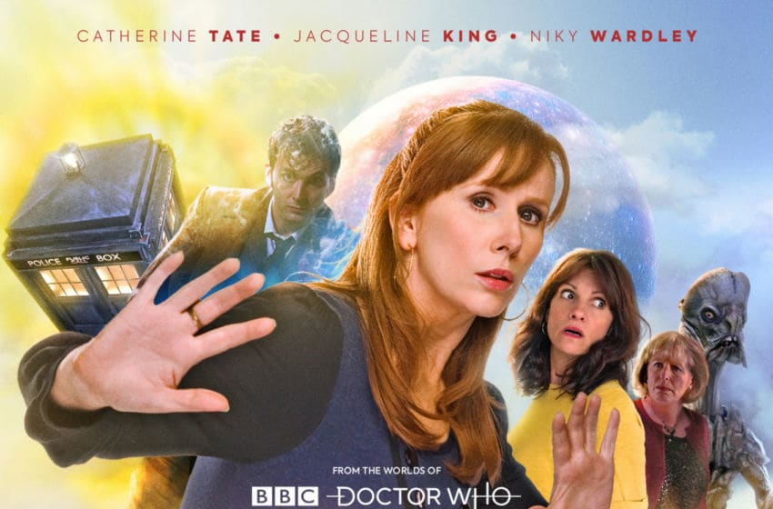 The audio box set Donna Noble: Kidnapped! is a strong tribute to a much-loved era. Image Courtesy Big Finish Productions
