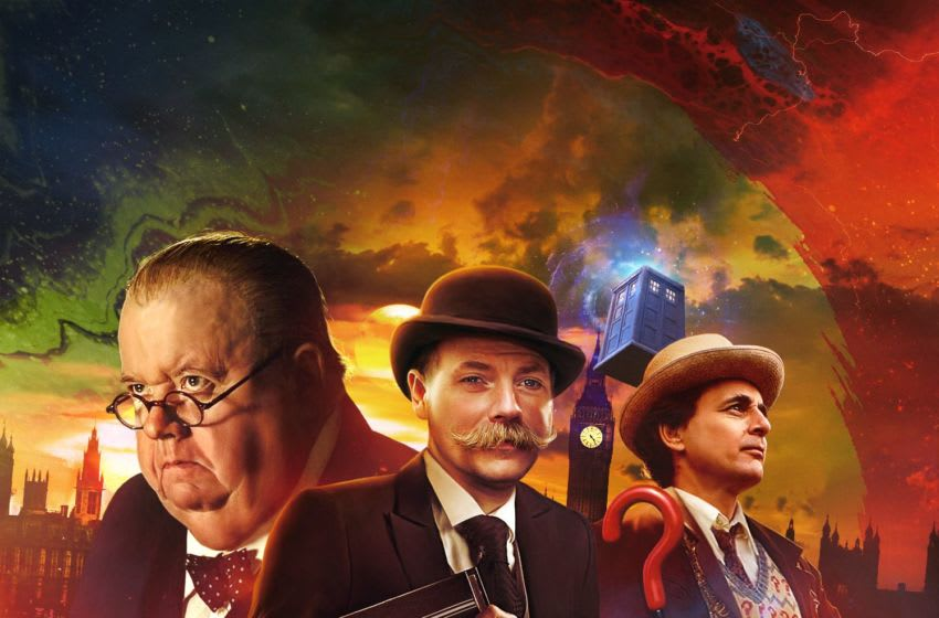 The Seventh Doctor is reunited with both Churchill and the Monk in Subterfuge. Image Courtesy Big Finish Productions