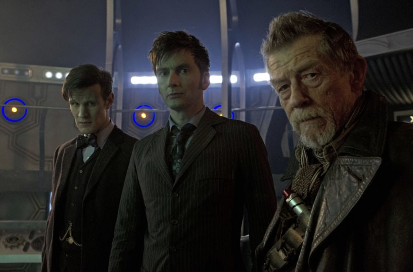 We look back on what makes The Day of the Doctor so special, and why it's still one of the best multi-Doctor stories. Image credit: Doctor Who/BBC. Image obtained from: BBC America.