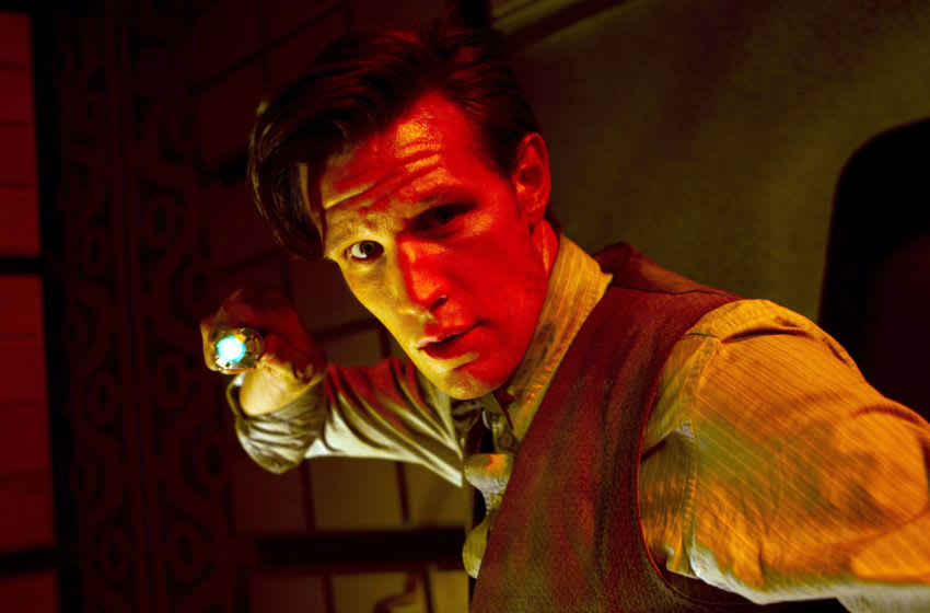 Following previous Matt Smith episode Vincent and the Doctor, the next Doctor Who watch-along goes back to his Doctor's beginning in The Eleventh Hour! Courtesy BBC
