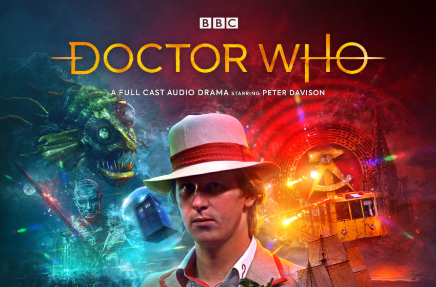 A new season begins for the Fifth Doctor in July, where he will spend some time on his own in Time Apart. Image Courtesy Big Finish Productions