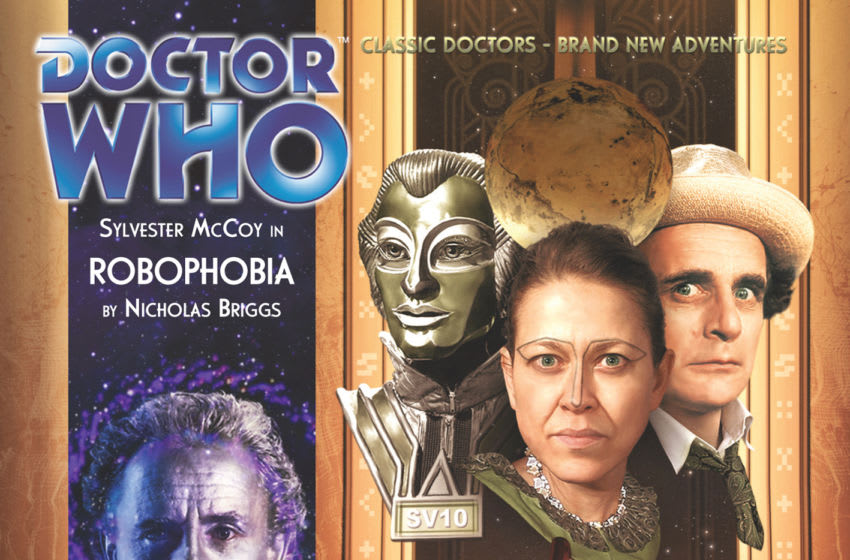 The Seventh Doctor audio Robophobia is a strong sequel to a much-loved classic. Image Courtesy Big Finish Productions