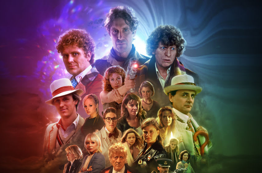 Featuring many Doctors and a huge number of characters, The Legacy of Time still stands out as an incredible multi-Doctor release. Image Courtesy Big Finish Productions