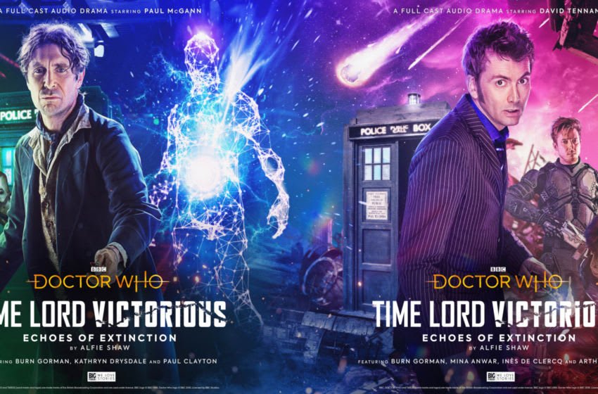 Two Doctors will feature in the exciting vinyl-first release Time Lord Victorious: Echoes of Extinction! Image Courtesy Big Finish Productions