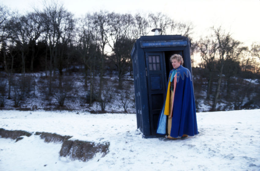 The Davros Mission takes place immediately after Sixth Doctor story Revelation of the Daleks. Where does Davros go from here? Image Courtesy BBC Studios, BritBox