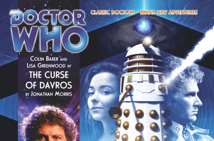 Davros interferes in the course of Earth history in The Curse of Davros. Image courtesy Big Finish Productions