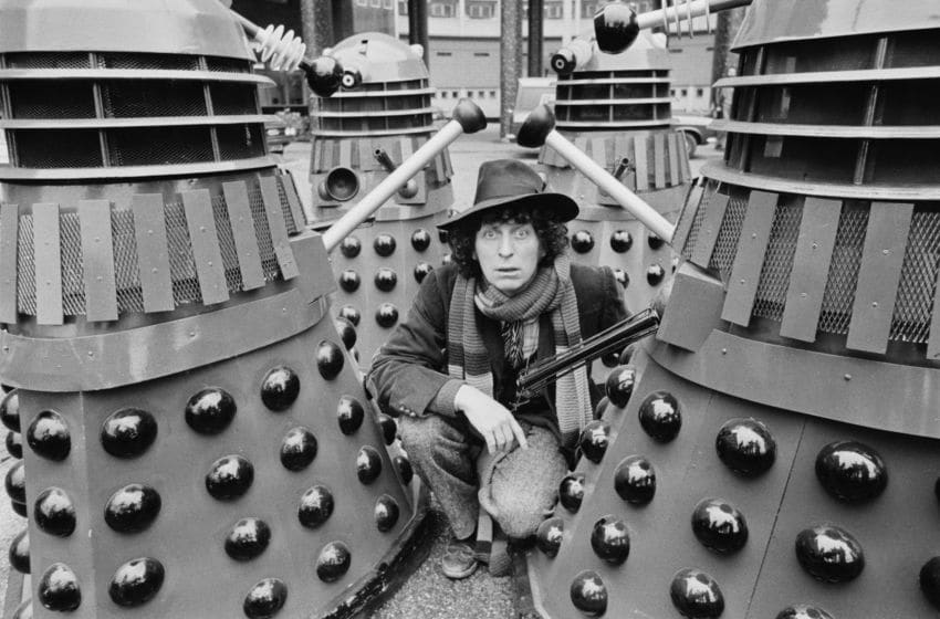 The classic Tom Baker story Genesis of the Daleks (Photo by Evening Standard/Hulton Archive/Getty Images)