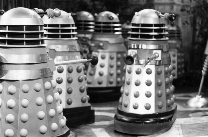 A brand new animated series featuring the Daleks will be launched in November on the official Doctor Who YouTube channel. (Photo by Ronald Dumont/Express/Hulton Archive/Getty Images)