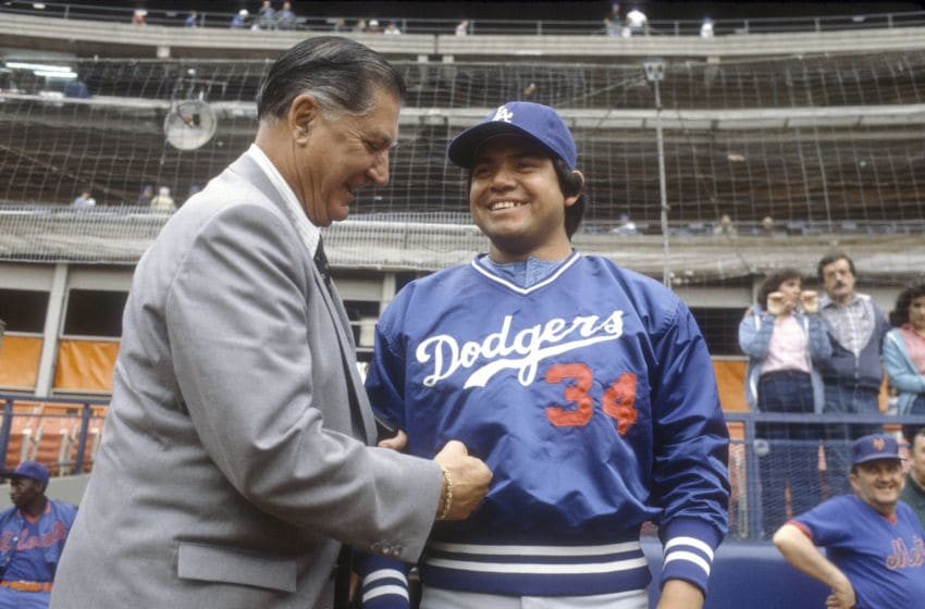 Fernando Valenzuela, (Photo by Focus on Sport/Getty Images)