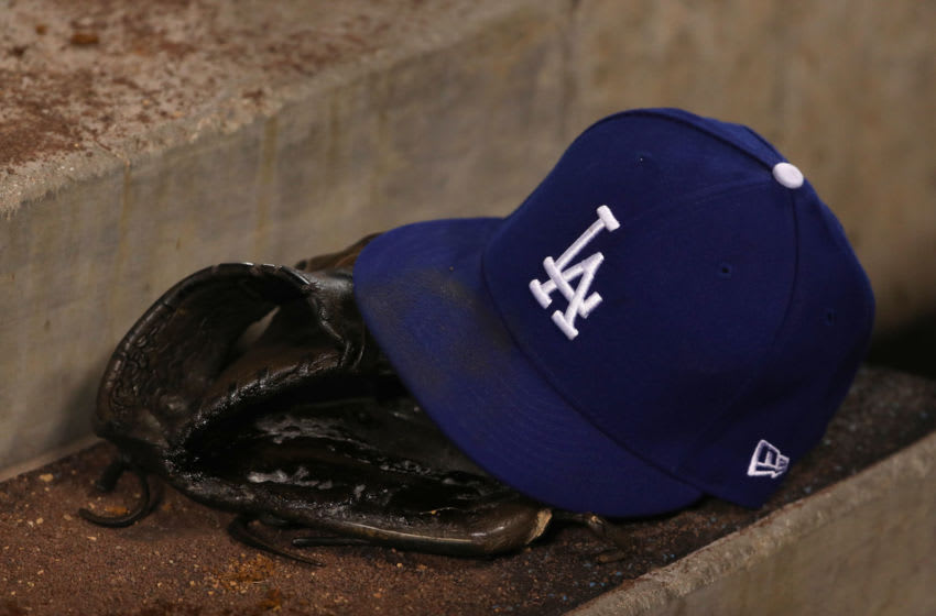 Los Angeles Dodgers taxi squad (Photo by Victor Decolongon/Getty Images)