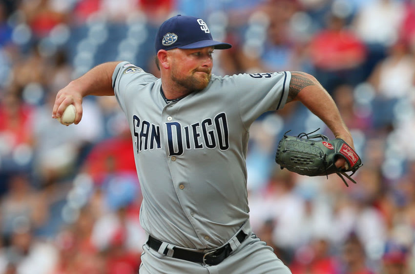 Kirby Yates, San Diego Padres (Photo by Rich Schultz/Getty Images)