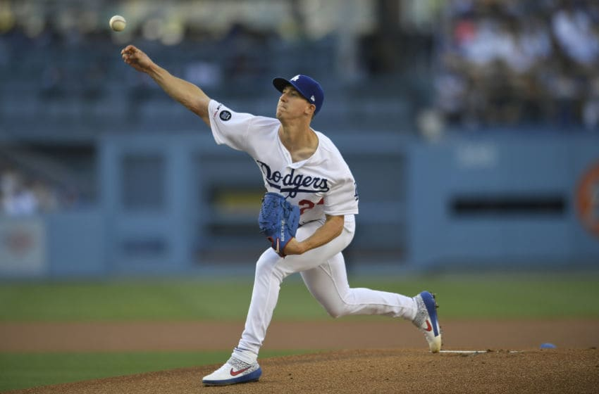 Walker Buehler, Los Angeles Dodgers (Photo by John McCoy/Getty Images)