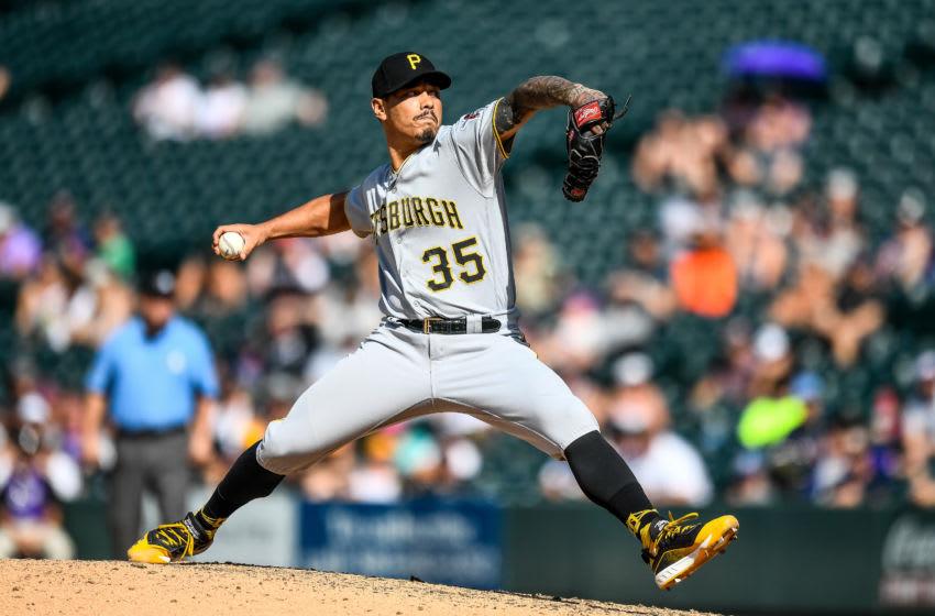 Keone Kela, Pittsburgh Pirates. (Photo by Dustin Bradford/Getty Images)