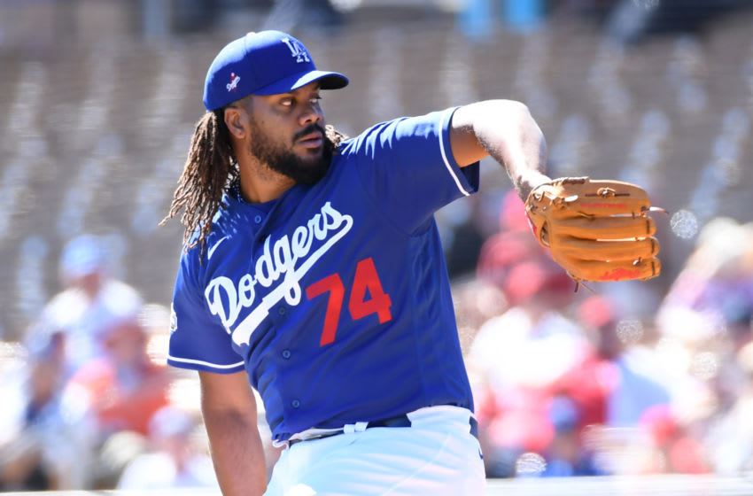 Kenley Jansen, Los Angeles Dodgers. (Photo by Norm Hall/Getty Images)