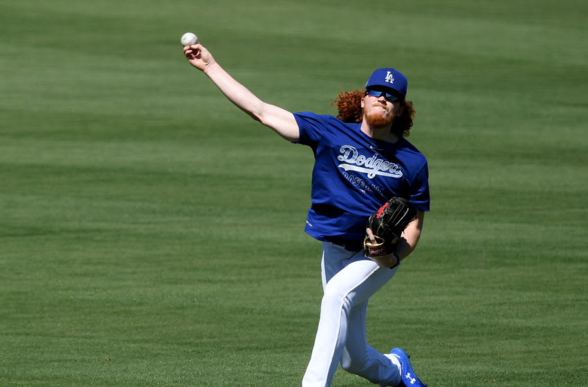 Dustin May, Los Angeles Dodgers (Photo by Harry How/Getty Images)