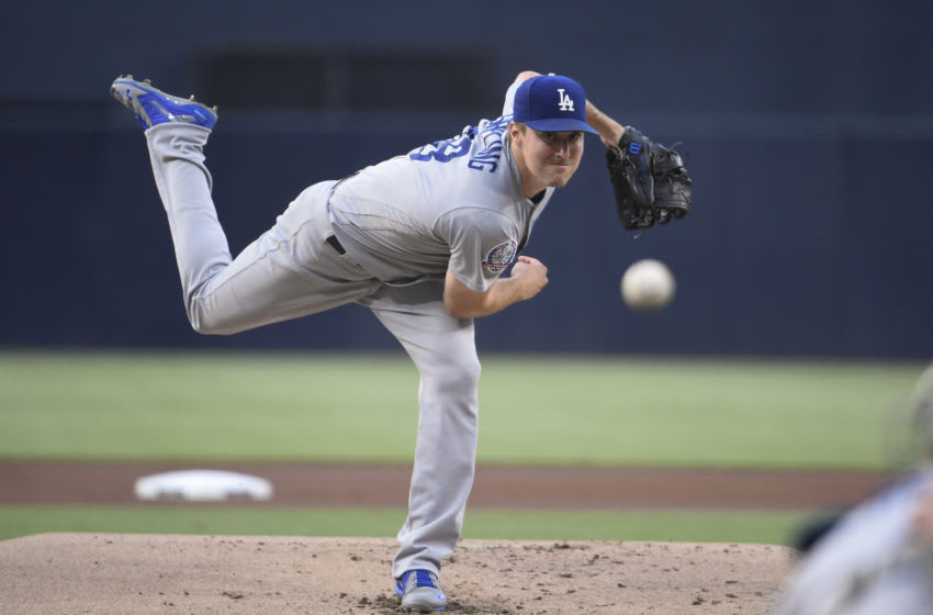Ross Stripling, Los Angeels Dodgers (Photo by Denis Poroy/Getty Images)