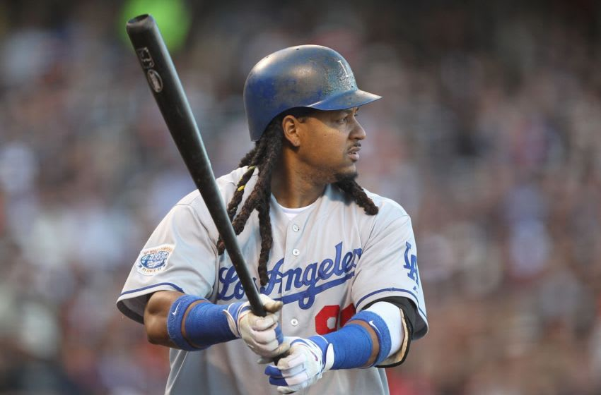 Manny Ramirez - Los Angeles Dodgers (Photo by Jed Jacobsohn/Getty Images)