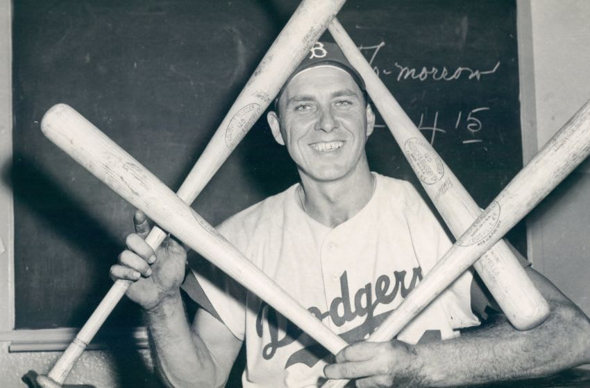 Brooklyn Dodger Gil Hodges (Photo by Barney Stein/Sports Studio Photos/Getty Images)