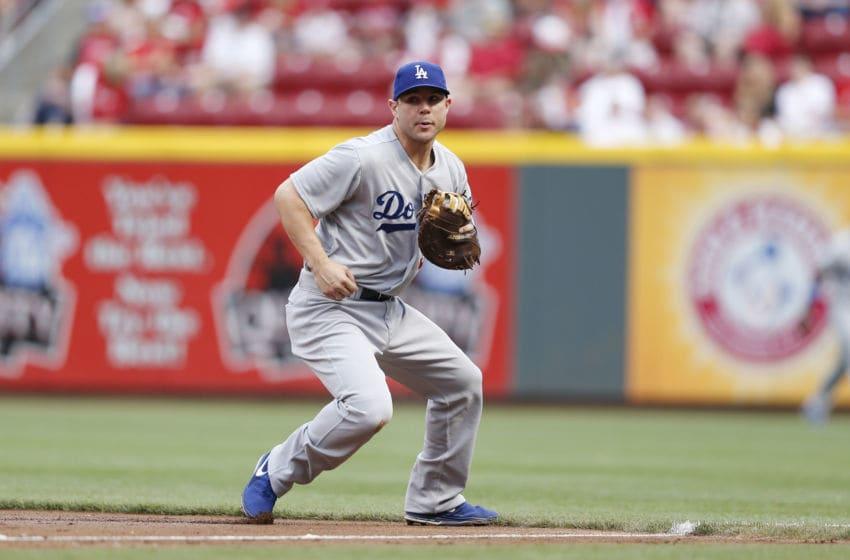 Jamie Romak, Los Angeles Dodgers(Photo by Joe Robbins/Getty Images)