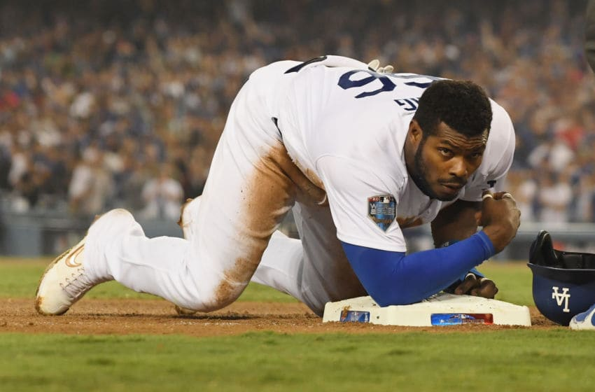 Yasiel Puig, Los Angeles Dodgers(Photo by Harry How/Getty Images)