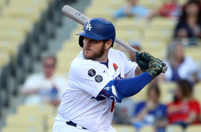 LOS ANGELES, CALIFORNIA - MAY 31: Max Muncy #13 of the Los Angeles Dodgers (Photo by Katelyn Mulcahy/Getty Images)