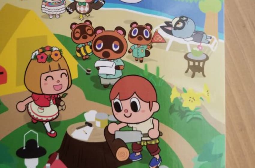Animal Crossing graphic novel cover. Photo by Wesley Coburn