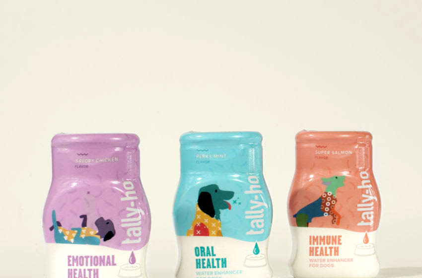 Tally-Ho, Functional Water Enhancers for Dogs. Image Courtesy Tally-Ho