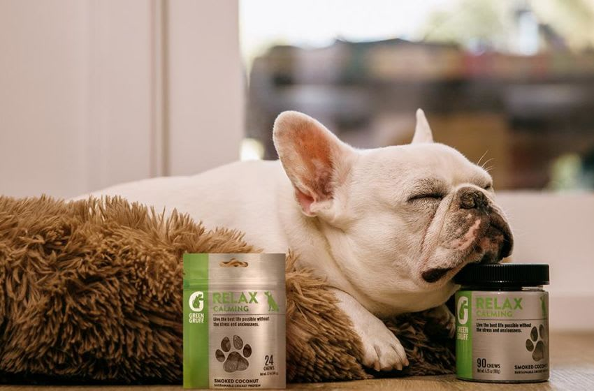 Green Gruff line of Relax Calming products. Image courtesy of Green Gruff