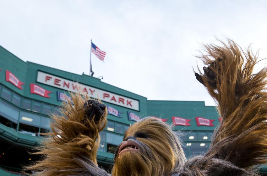 BOSTON, MA - APRIL 25: Chewbacca