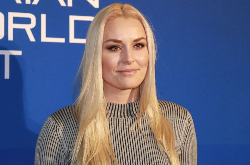 KITZBUEHEL, AUSTRIA - JANUARY 23: Lindsey Vonn of United States of America during the Climate Austrian World Summit on Hahnenkamm Race Weekend on January 23, 2020 in Kitzbuehel, Austria. (Photo by Martin Rauscher/SEPA.Media /Getty Images)