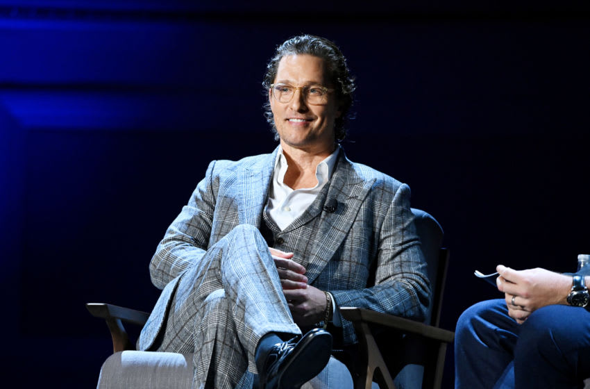 Matthew McConaughey (Photo by Noam Galai/Getty Images for HISTORY)