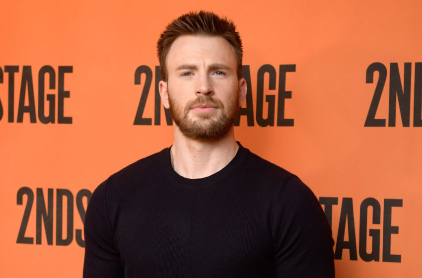 Chris Evans dog (Photo by Noam Galai/Getty Images)