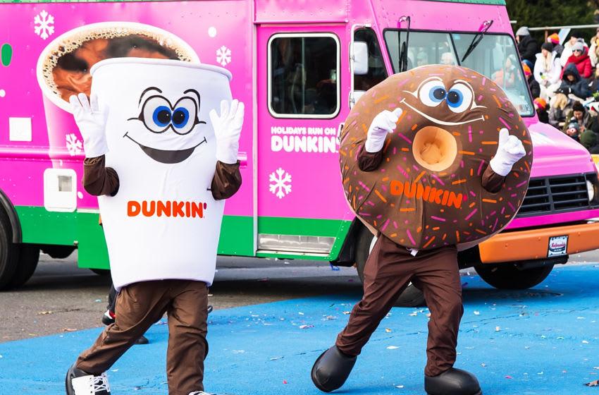Dunkin' mascots